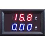 Όργανο πρόσοψης 0-100V DC / 0-20A